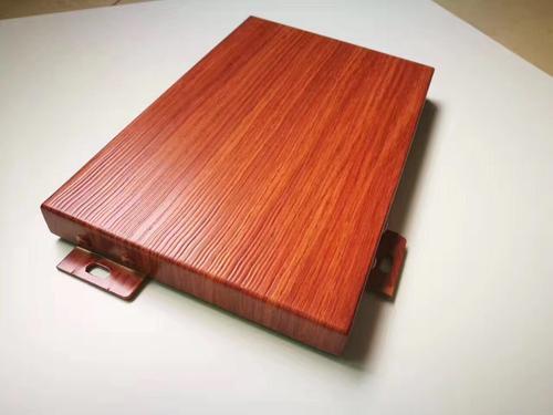 仿木纹铝单板很大程度保护了木材,也保护了环境