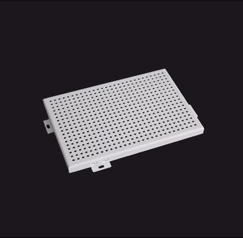 镂空穿孔铝单板在设计深化过程中要注意的事阿项有什么?