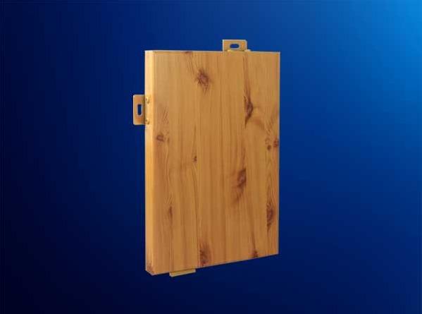复古多变仿木纹装修幕墙云南铝单板